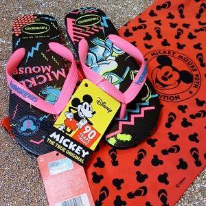 Havaianas limited edition Mickey Flip Flop
